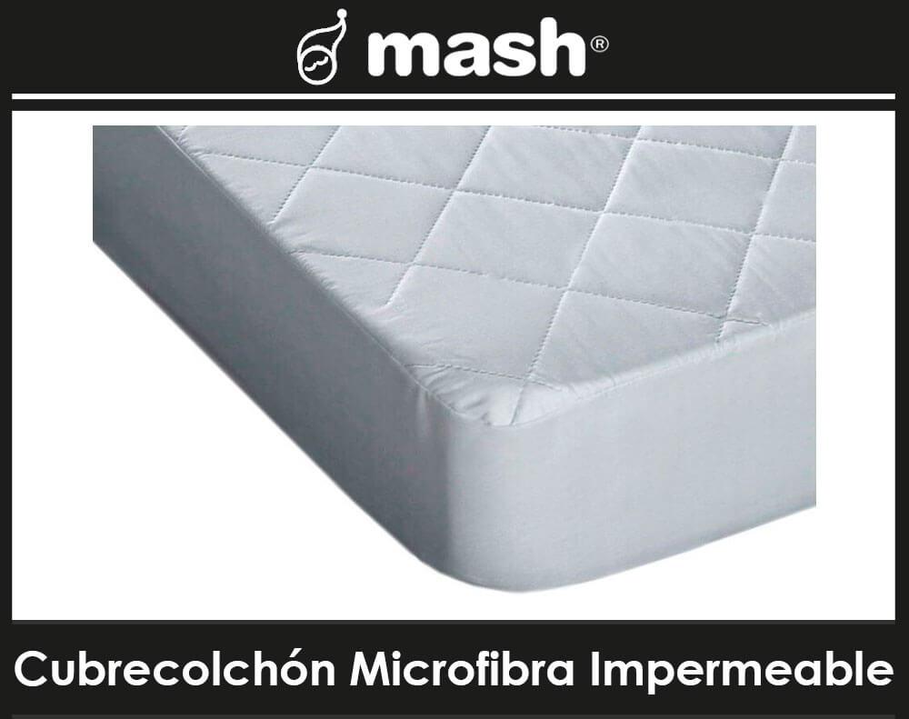 Cubrecolchon Microfibra Impermeable