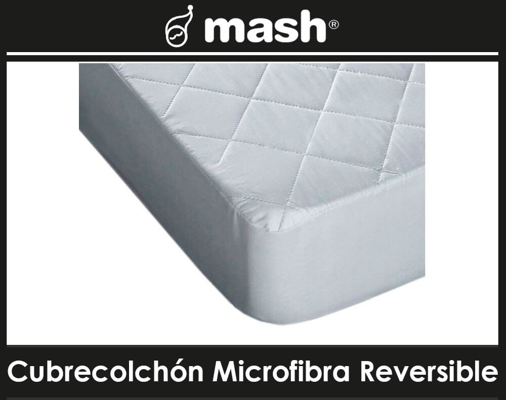 Cubrecolchon Microfibra Reversible