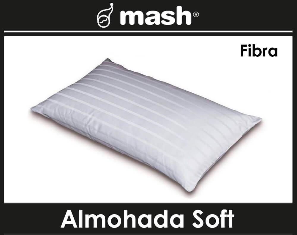 almohada mash soft malaga fibra