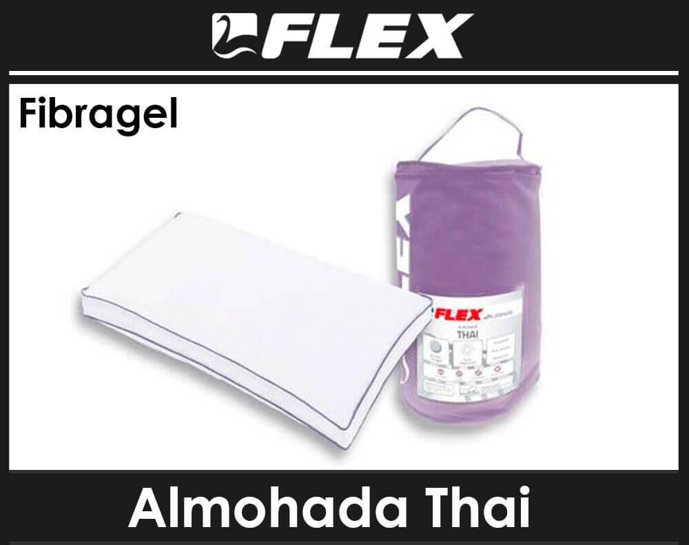 almohada flex fibragel thai malaga
