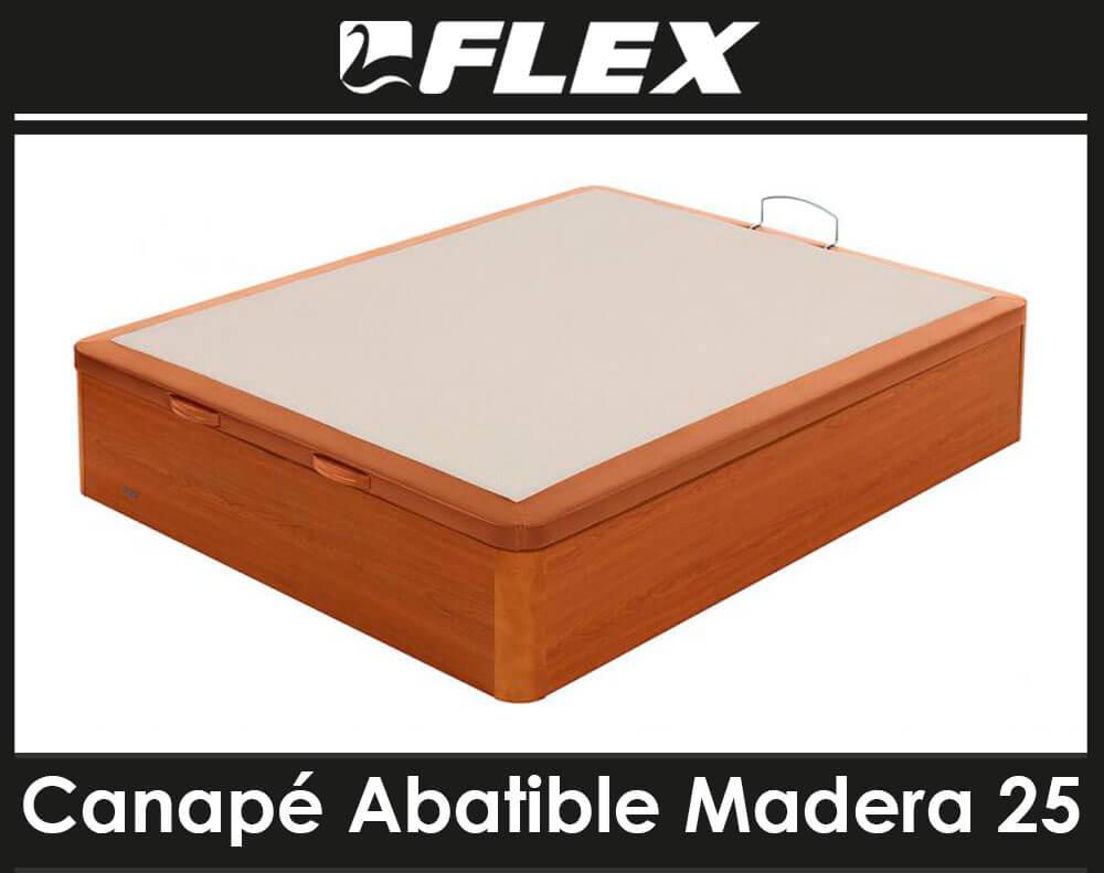 Canapé Flex Madera 25 Polipiel