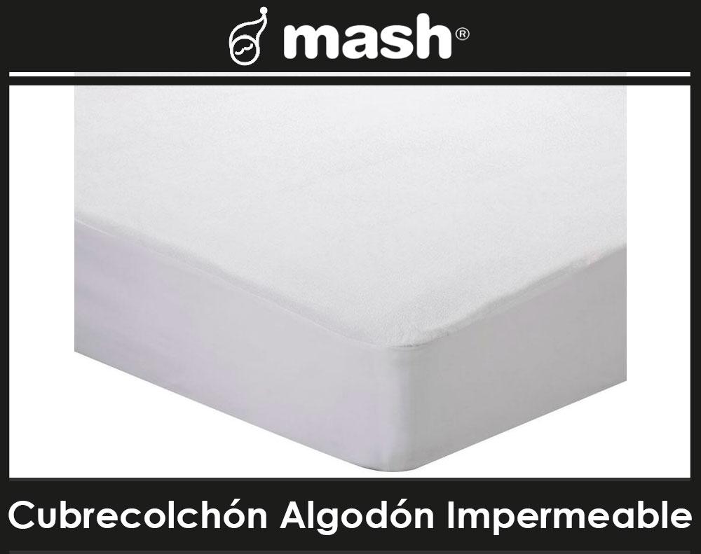 Cubrecolchón Algodón Impermeable Mash Malaga