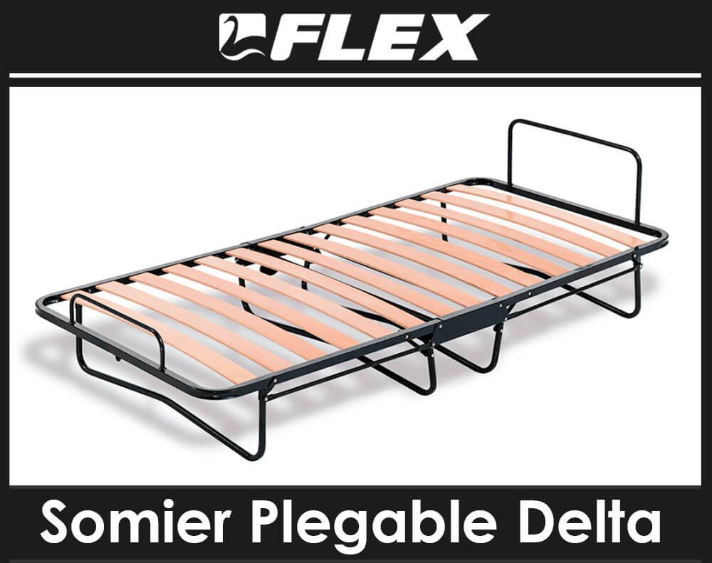 Somier plegable Delta Flex