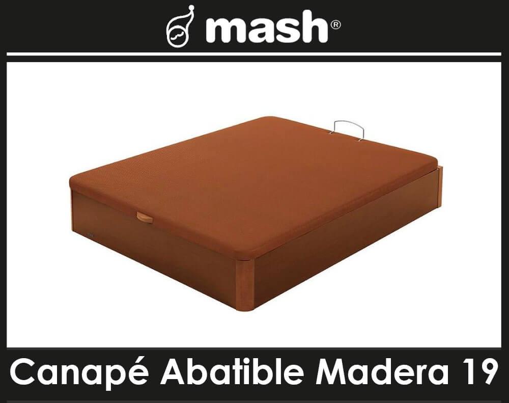 Canape Abatible Madera 19 Mash